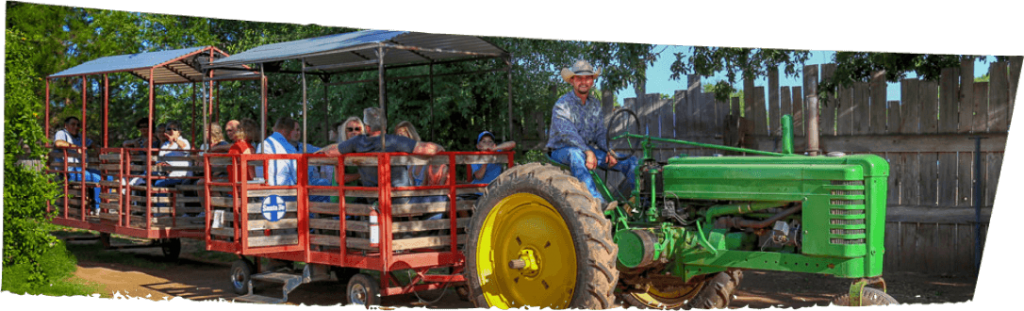 WESTERN THEME TOWN TRACTOR